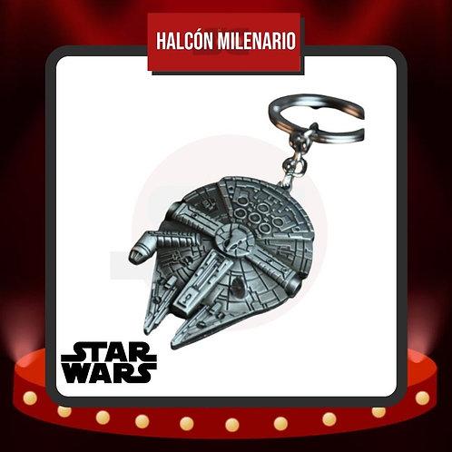 Llavero Metálico Halcón Milenario de Star Wars