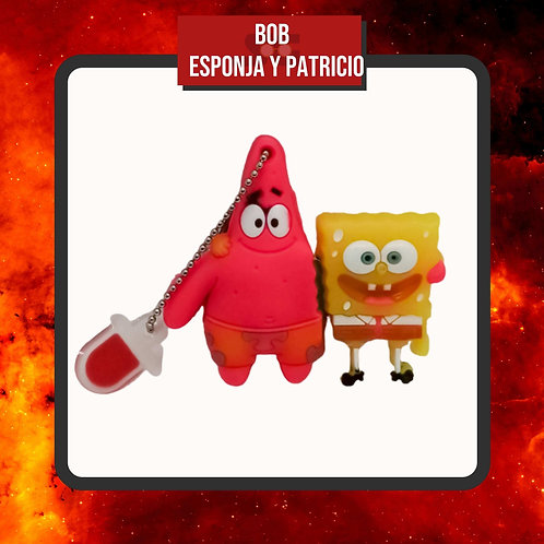 USB 16 Gb Bob Esponja y Patricio