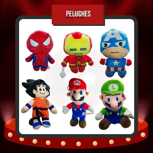 Peluches Marvel - Dragon Ball Z - Mario Bros