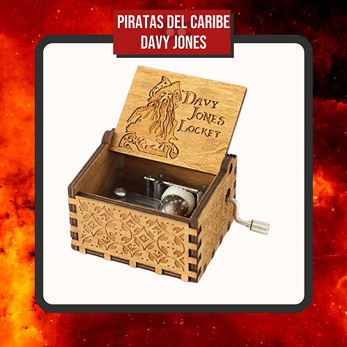 Caja Musical Piratas del Caribe Davy Jones