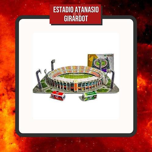 Rompecabezas Estadio Atanasio Girardot 3D