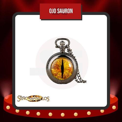 Reloj de Bolsillo Ojo Sauron Cerrado del Señor de los Anillos