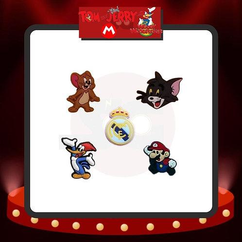 Imanes Tom y Jerry - Pájaro Loco - Mario Bros