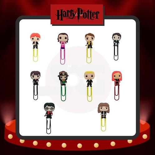 Clips para marcar páginas Harry Potter Grupo 2