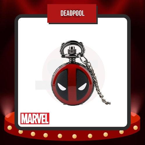 Reloj de Bolsillo DeadPool Cerrado de Marvel