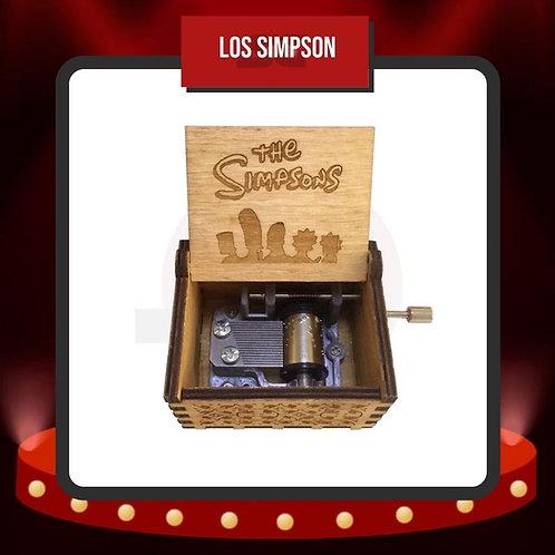 Caja Musical Los Simpson