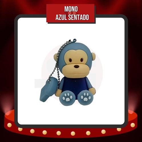 Memoria USB 16 GB Mono Azul Sentado