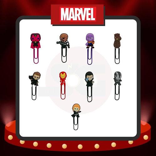 Clips para marcar páginas Marvel Grupo 1