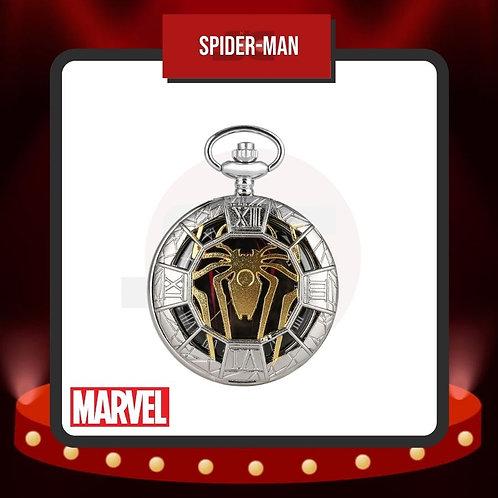Reloj de Bolsillo Spider-Man Cerrado de Marvel