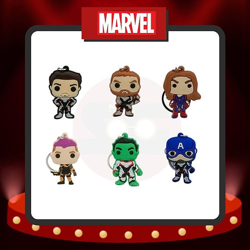 Llaveros de PVC Marvel Grupo 1