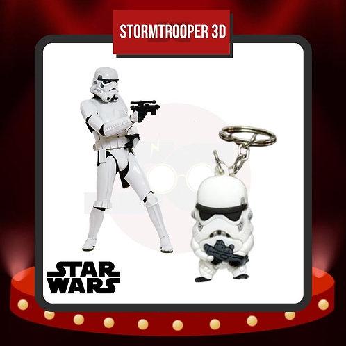 Llavero PVC Stormtrooper 3D de Star Wars