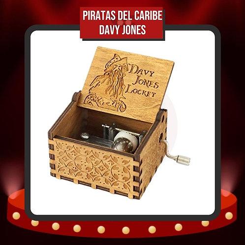 Caja Musical Piratas del Caribe Davy Jones