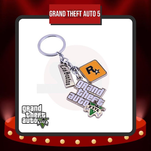 Llavero Grand Theft Auto 5 Metálico