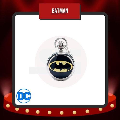 Reloj de Bolsillo Batman Cerrado de DC