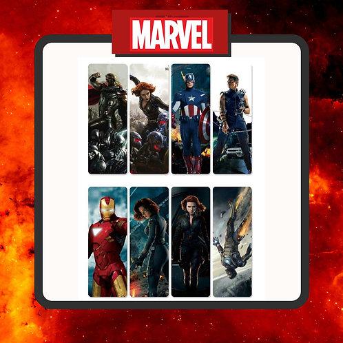 Marcapáginas Marvel 2