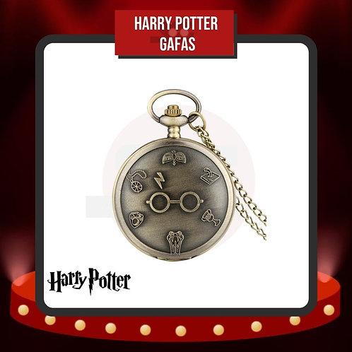 Reloj de Bolsillo Harry Potter Gafas Cerrado