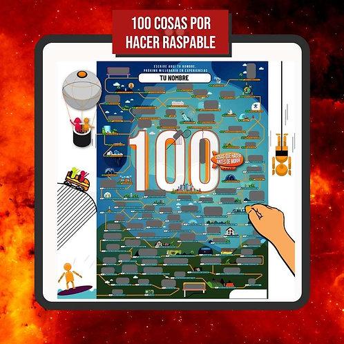 100 Cosas por Hacer Raspable