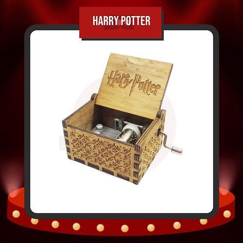 Caja Musical Harry Potter Madera