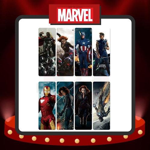 Marcapáginas PVC Marvel 2