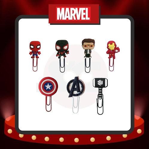 Clips para marcar páginas Marvel Grupo 7