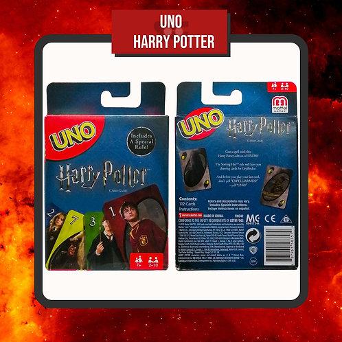 Caja del Juego de Cartas UNO Harry Potter