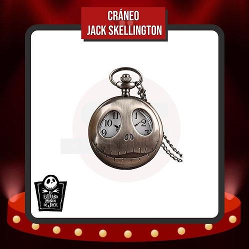 Reloj de Bolsillo Cráneo Jack Skellington Cerrado