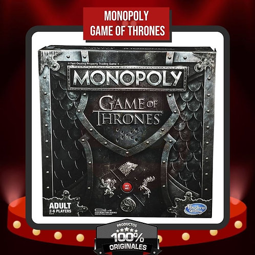 Caja Monopoly Game of Thrones