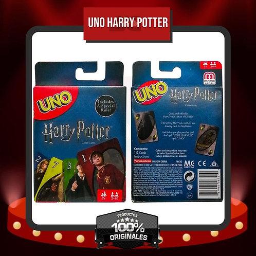 Caja Juego de Cartas UNO Harry Potter