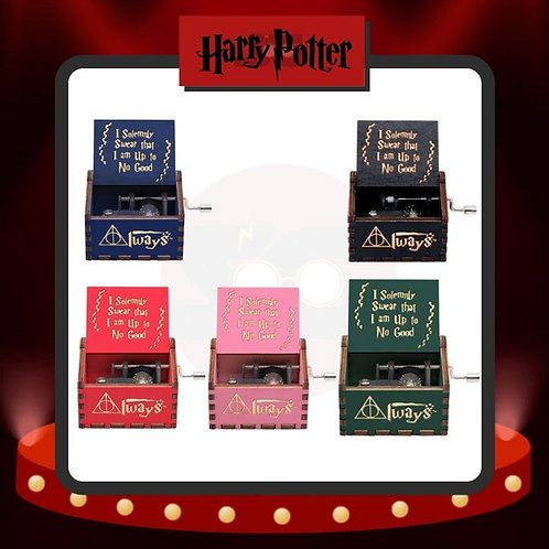 Cajas Musicales Harry Potter Tipo 1