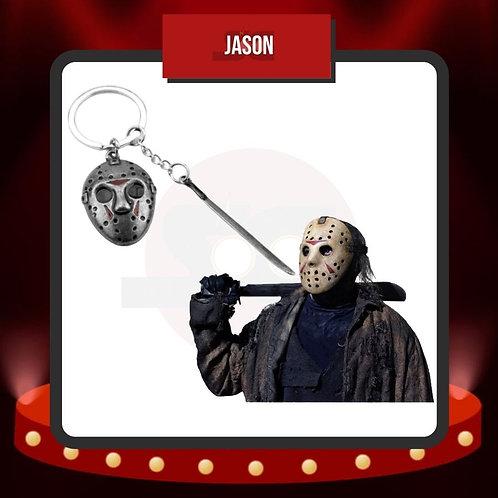 Llavero Mascara y Machete de Jason