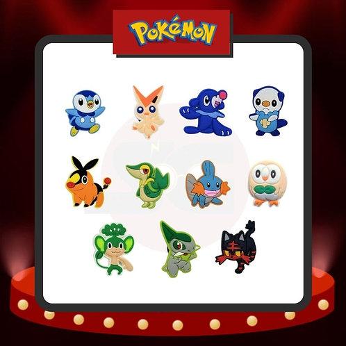 Pines para Crocs Pokémon Grupo 3