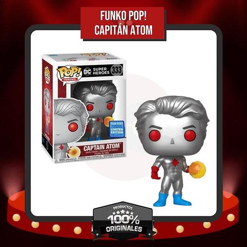 Funko Pop! Capitán Atom (333) en Caja