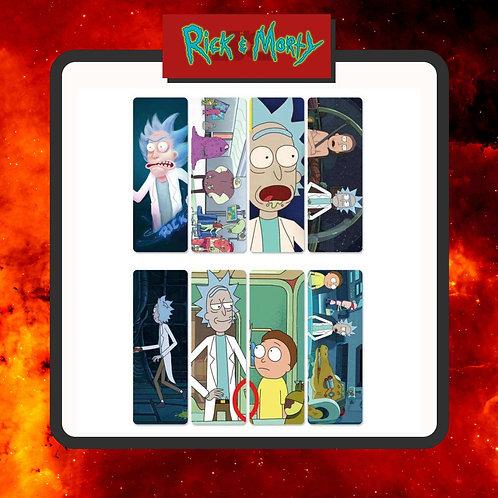 Marcapáginas Rick & Morty