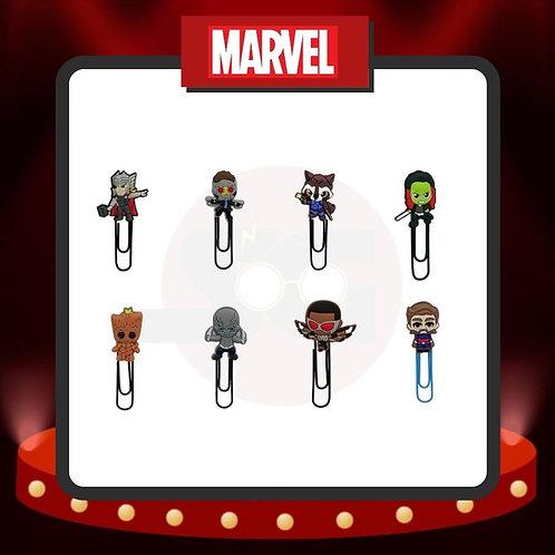 Clips para marcar páginas Marvel Grupo 3