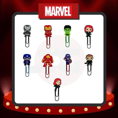 Clips para marcar páginas Marvel Grupo 2