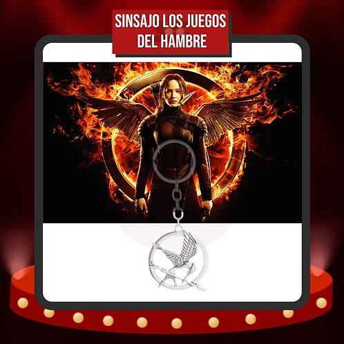 Llavero Sinsajo Los Juegos del Hambre Katniss Everdeen