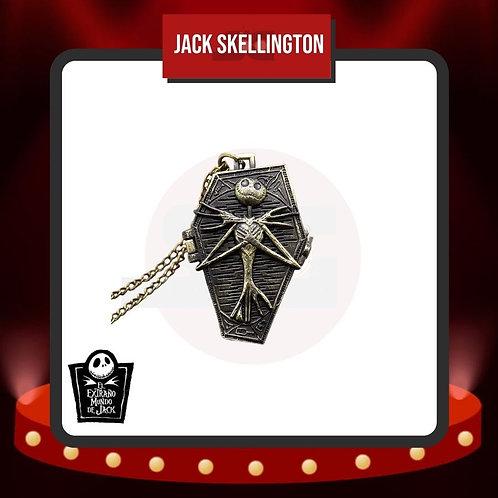 Reloj de Bolsillo Jack Skellington Cerrado