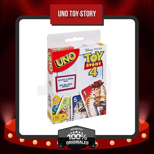 Caja Frontal Juego de Cartas UNO Toy Story