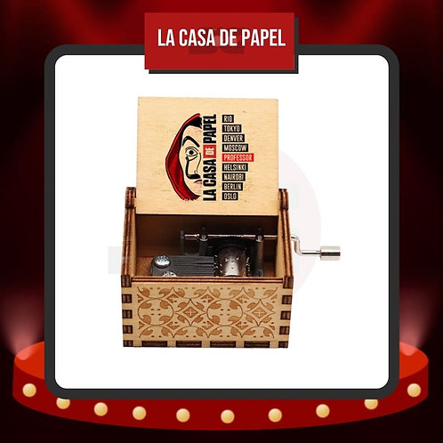 Caja Musical La Casa de Papel