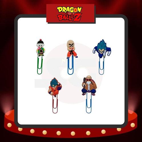 Clips para marcar páginas Dragon Ball