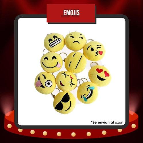 Llaveros Emojis de Peluche