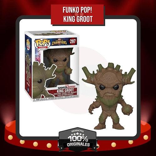 Funko Pop! King Groot (297) en Caja