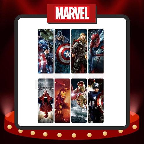 Marcapáginas PVC Marvel 1