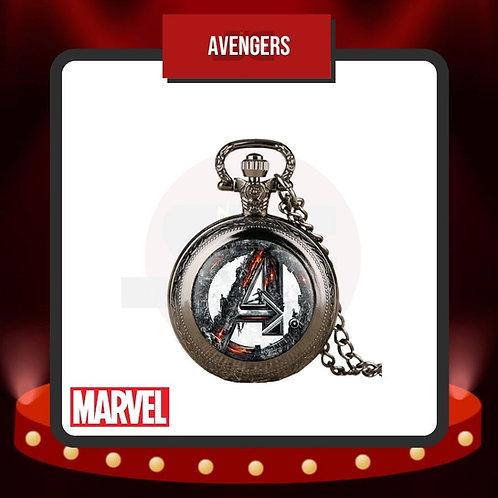 Reloj de Bolsillo Avengers Cerrado de Marvel