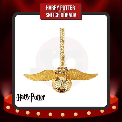 Reloj de Bolsillo Harry Potter Snitch Dorada Cerrada