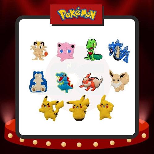 Pines para Crocs Pokémon Grupo 2