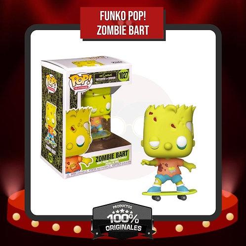 Funko Pop! Zombie Bart (1027) en Caja