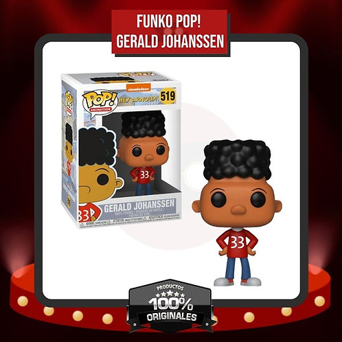 Funko Pop! Gerald Johanssen (519) en Caja
