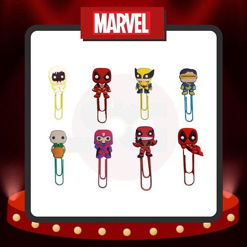 Clips para marcar páginas Marvel Grupo 5