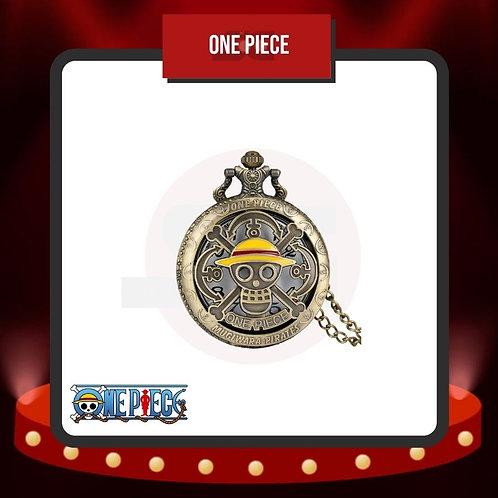 Reloj de Bolsillo One Piece Cerrado